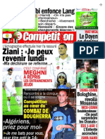 Edition du 30 octobre 2009