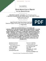 Amicus Brief of  Constitutional Law Scholars