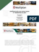 Multiplan tao 4T07 Port