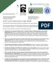 Water Package Enviro Oppose 10-30-09