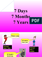 Marriage at Different stages!!!!!!!!