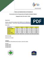 C09-Convocatoria Rapido Sub10!18!2014