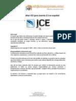 Tutorial Editor JCE Para Joomla 25