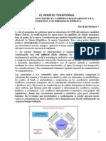 Pacheco, J.L. Modelo Territorial en diálogo gob.-oposición, 4-2014