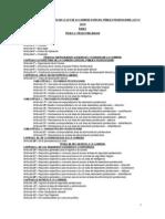 Proyecto Del Reglamento Para Analisis y Sugerencias