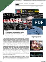 30 anos depois, o primeiro delator da NSA conta todos os detalhes de sua história » Gizmodo Brasil