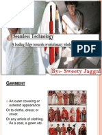 Seamless Garments Ppt