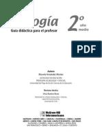 Biologia 2 Educacion Media Guia Didactica Para El Profesor