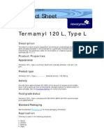 Termamyl 120L Type L B-0552