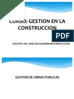 Gestion de Obras Publicas