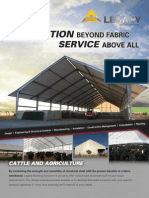 Fabric Building Brochure Cattle Ag
