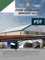 Fabric Warehouse Industrial Storage