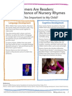 2 rhymers are readers-why important