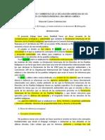 17. María del Carmen Carmona Lara - Aspectos ecológicos y ambientales de la Declaración Americana de los Derechos de los Pueblos Indígenas