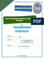 COORDENADAS PARCIALES 2013B