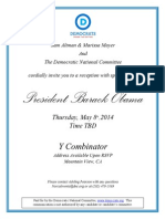 Obama YC invite