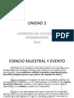 2014 Unidad 2 Probabilidad