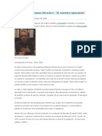 Entrevista a Jacques Ranciere (1)