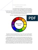 Practical Guide to Color for Artists