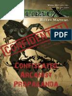 Mali Faux Rules Manual 2011