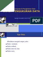 Materi 2 Skala Pengukuran Data