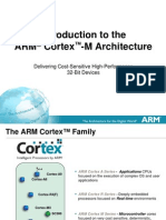 Cortex M Architecture 32bit Devices by ARM
