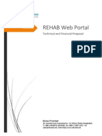 Technical and Financial Proposal for REHAB Web Portal