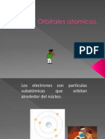 orbitales atomicos.