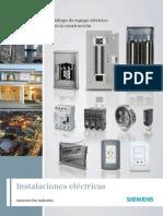 Catálogo de Equipo Eléctrico Para La ConstrucciónSIEMENS