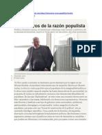 Claroscuros de La Razón Populista