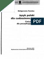 PASIEKA Polski Dla Cudzoziemcow