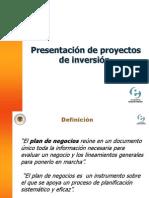 Presentación Plan de Negocio