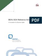 BEA's SOA Reference Architecture