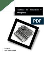 Antología Tecnicas de Redacción y Ortografía