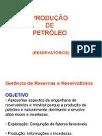 Petroleo- Reservatórios