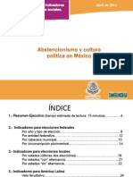 C18-Abstencionismo y Cultura Politica en Mexico