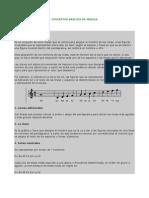 Conceptos Basicos de Musica Solfeo