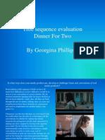 Georginas Media Evaluation