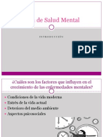 Plan de Salud Mental