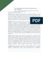 Bedside Assessment of Coagulation Disorders in Post