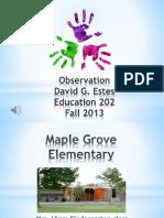 observation ed 202