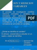 Operacionalización de Variables e Hipotesis