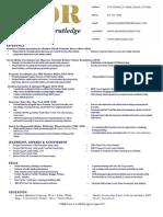 MDRutledge Résumé