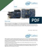 Intel Galileo Datasheet