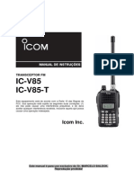 Manual Icom Ic-V85