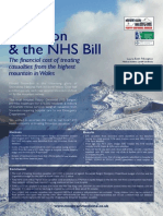 Mount Snowdon and the NHS Bill - Conference Poster