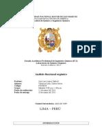 7° informe de química orgánica