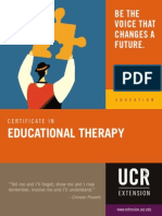 Educational Therapy Factsheet