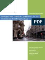 Intervención Tatiana Aguirre, Fernando Diaz, Joselyn Varas