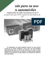Amplificador 55W a 12VTDA1562